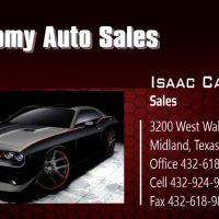 Economy Auto Sales